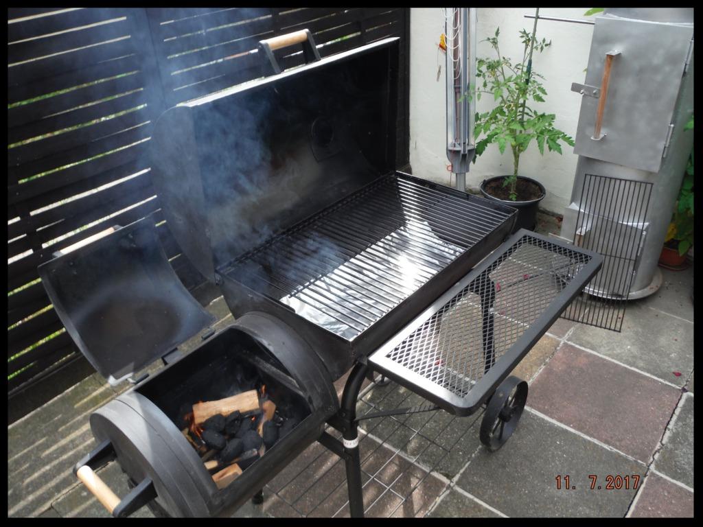 Auf Grill - im Smoker